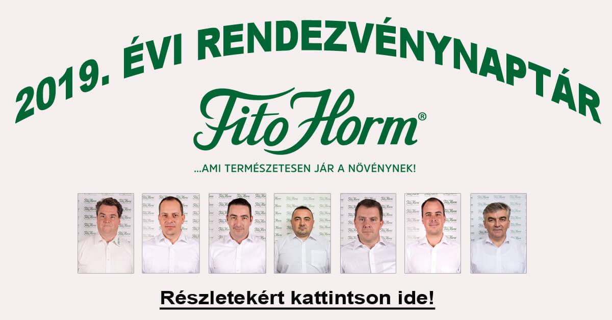 Rendezvénynaptár Fitohorm Kft.