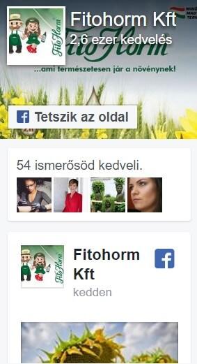 Fitohorm facebook